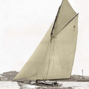 Victorian Sloop on Sydney Harbour