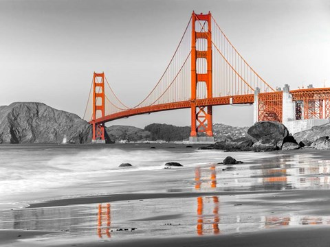 Baker Beach and Golden Gate Bridge, San Francisco 1