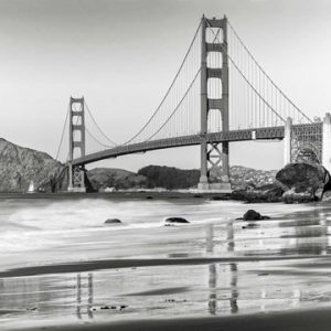 Baker Beach and Golden Gate Bridge, San Francisco 2