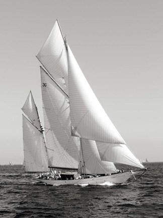 Classic sailboat
