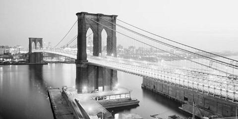 Brooklyn Bridge from Manhattan side, NYC