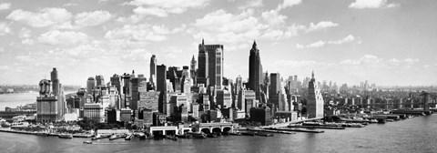 Manhattan Waterfront (detail)