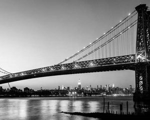 Queensboro Bridge and Manhattan from Brooklyn, NYC