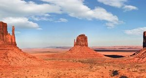 View to the Monument Valley, Arizona