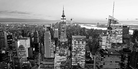 Aerial View of Manhattan, NYC 1