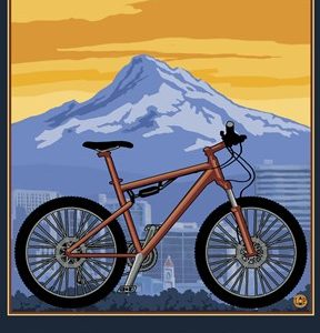 Portland Oregon Bike Ad