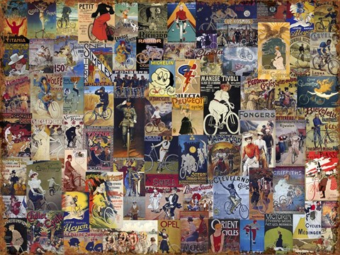 World Bicycle Tour Collage
