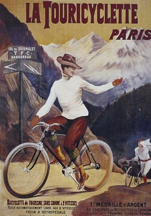 La Touricyclette, Paris