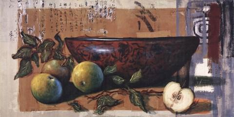 Coupe A Lotus Et Pomme