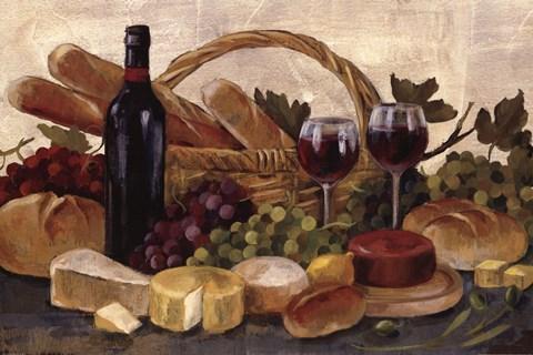 Tuscan Evening Wine Crop