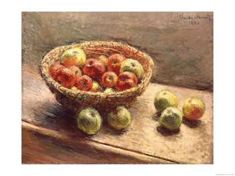 A Bowl of Apples, 1880