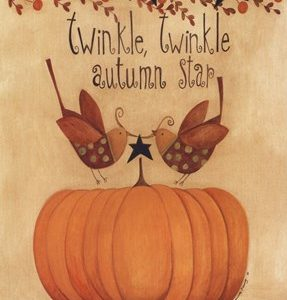 Twinkle, Twinkle Autumn Star