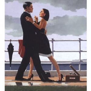 Artwork of Jack Vettriano: Aniversary Waltz