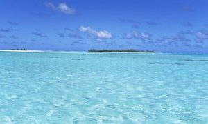 Island in the ocean, Maina, Cook Islands