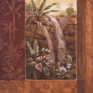 Tropical Waterfall I