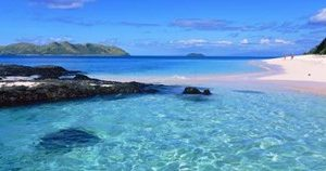 Island in the sea, Veidomoni Beach, Fiji