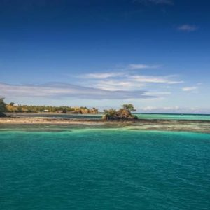 Turquoise waters of Blue Lagoon, Yasawa, Fiji, South Pacific