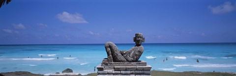 Chac Mool Altar, Cancun, Mexico