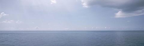Clouds over the sea, Atlantic Ocean, Bermuda, USA