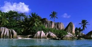 La Digue, Island, The Seychelles, Africa